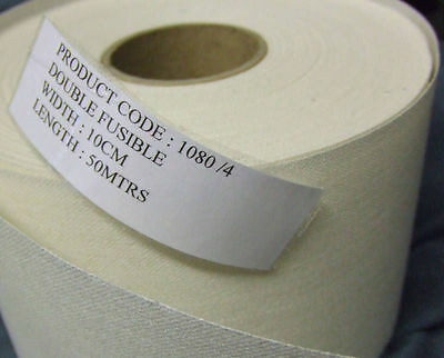 """Buckram - Double Sided Fusible - 6""""   0.9m Remnant   RR1333"""