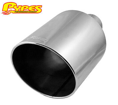 "Ford Powerstroke Super Duty Diesel Truck 4"" In 10"" Out 18"" Long Exhaust Tip"