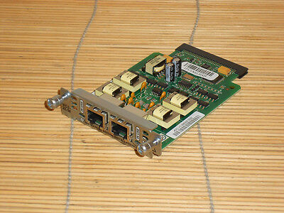Cisco VIC3-2E/M 2-port E&M Voice/Fax Interface Card Karte