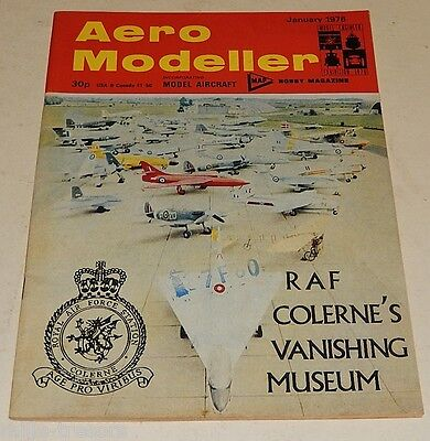 AERO MODELLER January 1976 : GYRATION - OTM Kolibri - Spoked wheels ...