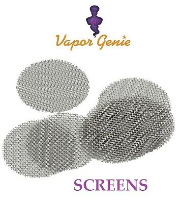 Official Vapor Genie Replacement Screens -5/10 Pack -Stainless Steel Screens