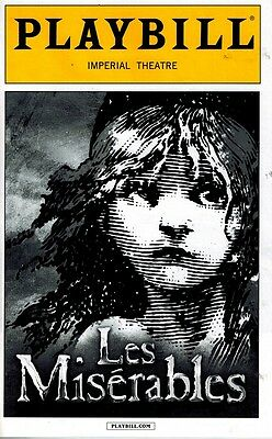 Les Miserables Broadwway Playbill  2014 Production