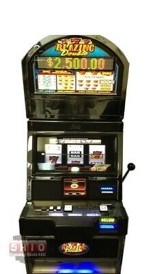 "Slot Machine Bally Alpha S9000 ""blazing Double 7's"""