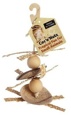 SNF Coc 'o' nuts hanging small animal toy