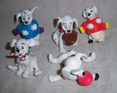 Disney 101 Dalmations Set of 5 Figures or Cake Toppers