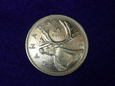 Canada 1974 25 cents