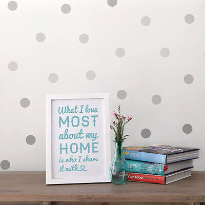 Polka Dot Wall Stickers / Decals - Room Decor - Colour Options