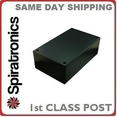 ABS Plastic Utility Project Box Black 217 x 138 x 82mm