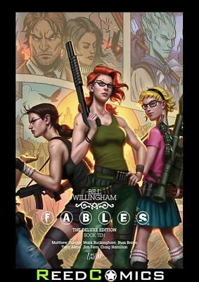 FABLES VOLUME 10 DELUXE HARDCOVER New Hardback Collects #83-85 + Crossovers