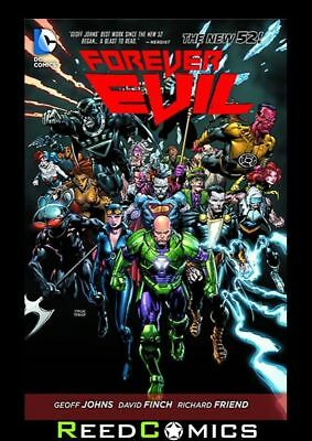FOREVER EVIL GRAPHIC NOVEL New Paperback Collects 7 Part Series by Geoff Johns