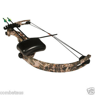 "NEW KIDS ""Little Hunter"" 15LBS CAMO COMPOUND BOW AND ARROW ARCHERY TARGET"