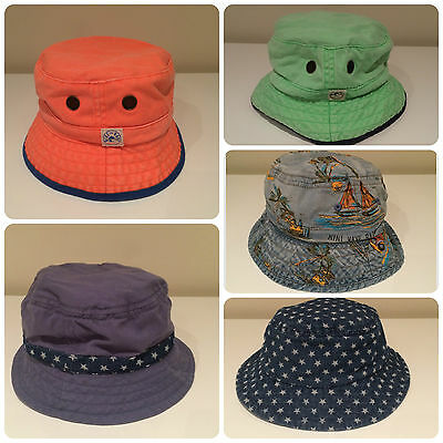Kids Sun Bucket Hats Fun  Next Joblot Wholesale Clearance Bulk Seconds Cheap