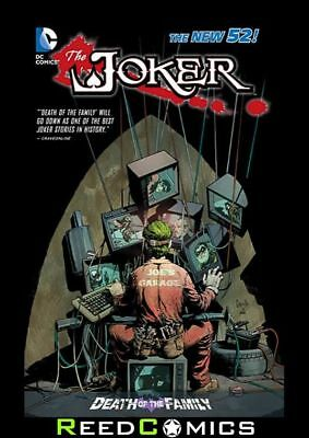 JOKER DEATH OF THE FAMILY GRAPHIC NOVEL New Paperback Batman + Crossover Issues