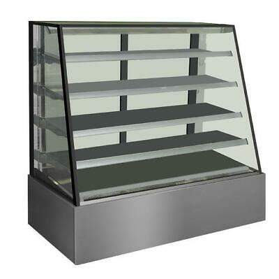 Venezia Advanced Heated Display Cabinet with Angled Front 900x800x1350mm