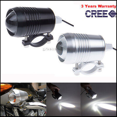 30W LED CREE Motorcycle Spot Light Projector Headlight Work/Off-Road Ampoules
