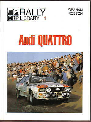 Audi Quattro Rally Library No. 1 Road & Rally cars + Mikkola Blomqvist 1980-83