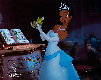 "Disney's ""the Princess And The Frog"" Limited Edition Original Sericel - Rare!!!"