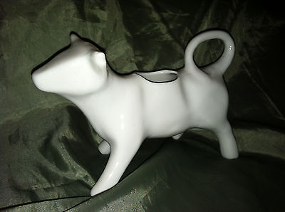 Cow Creamer Milk Pitcher White Cow Collectible 2 available