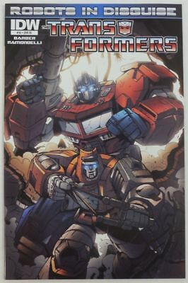 TRANSFORMERS Robots In Disguise # 10 Comic RI Variant Cover IDW ~ NM/UNREAD RID