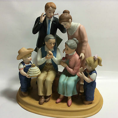 NEW Home Interiors DENIM DAYS 50th Anniversary Celebration Grandparent Figurine