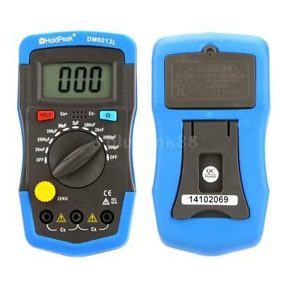 Handheld Digital Capacitor Capacitance Tester Meter With LCD Backlight Display