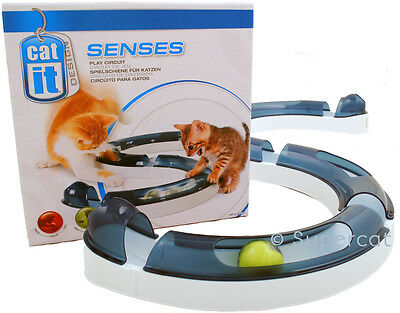 Catit Senses Play Circuit Cat Activity Play Kitten Toy