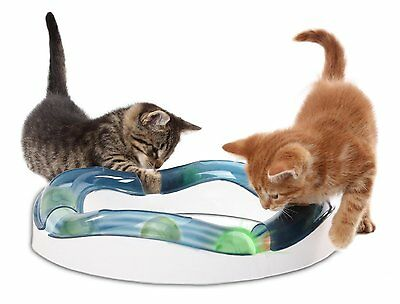 Catit Senses Speed Circuit Cat Activity Play Kitten Toy