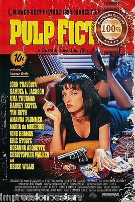NEW PULP FICTION ORIGINAL CLASSIC 1994 90s MOVIE TARANTINO PRINT PREMIUM POSTER