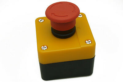 660V 10A Emergency Stop button box Push Button Switch Short circuit protection