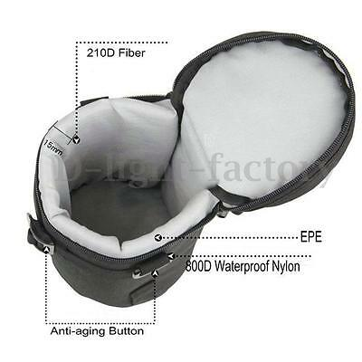 EMB-L2020 Camera Lens Case Waterproof Protector Pouch Bag for Sony for Nikon