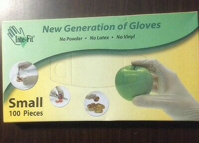 Food Service Gloves - 100 count SMALL NO POWDER or LATEX or VINYL