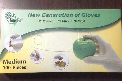 Food Service Gloves - 100 count MEDIUM NO POWDER or LATEX or VINYL