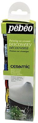 Pebeo Ceramic Paint Discovery Set - 6 x 20ml