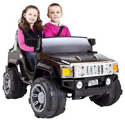 12V Electric Toy Car Hummer Edition (Black, Green, Red)