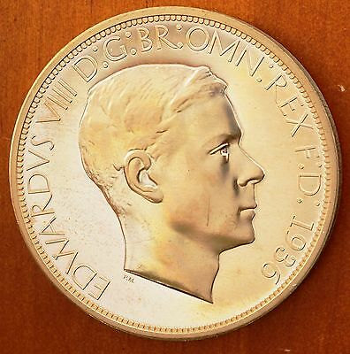1936 Canada  Proof Pattern Dollar Golden Alloy Edward VIII Rare Only 12 Minted