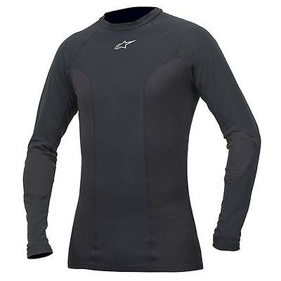 ALPINESTARS Tech Race Long Sleeve Compression Under Suit Top (Black) Choose Size