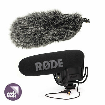 Rode Videomic Pro R - New Model With Rycote Lyre Shockmount And Deadcat