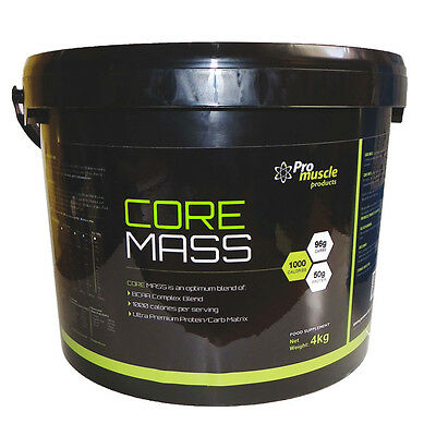 4Kg Massive Calories Anabolic Core Mass Protein Weight Gainer - Chocolate
