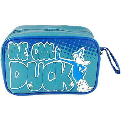 Daffy Duck - One Cool Duck Fully Lined Vinyl Toiletries Bag / Washbag - New