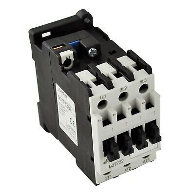 Siemens Contactor 3TF32 3TF3211-0AC2 16A AC 24V Coil Includes 1 Year Warranty