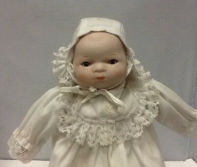 "11"" Bisque Head and and Hands Baby Doll"