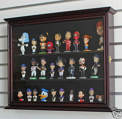 Display Case Wall Cabinet for MINI Bobble Head Wobbler Nodder , CD-SC04B-MA