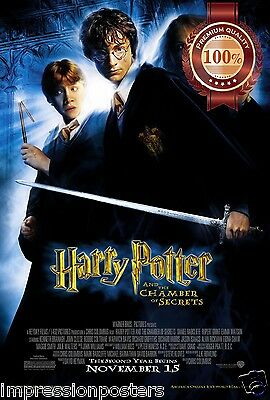 New Harry Potter Chamber Of Secrets Movie Wall Art Print Premium Poster