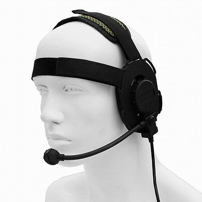 Z Tactical Miltary Heavy Duty Bowman EVO III Headset Earpiece War Game Airsoft