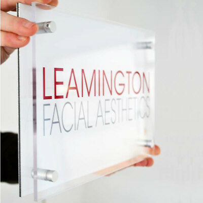 Personalised Acrylic Sign - Business Sign Custom Design