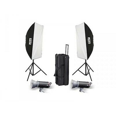 Kit Flash estudio Metz Mecastudio TL-300 SB-Kit II