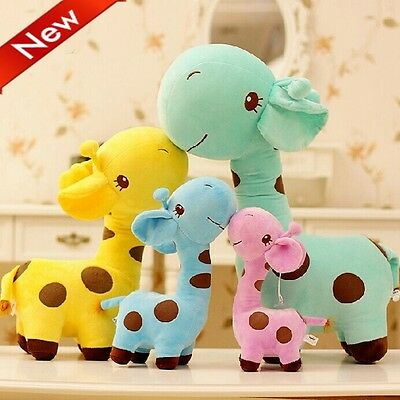 Lovely Giraffe Dear Soft Plush Toy Cute Small Baby Stuffed Animal Quality Doll