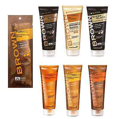 TANNYMAXX TannyMax Dark Super Black Very Dark Sunbed Tanning Lotion Tan Creams