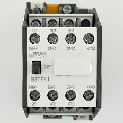 Siemens Contactor 3TF41 3TF4122-0AK6 12A AC 120V Coil Includes 1 Year Warranty