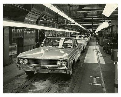 1963 Oldsmobile Automobile Factory Photo ch7927